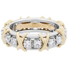 "Tiffany & Co. ""Schlumberger"" Diamond Eternity Ring"