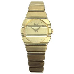 Ladies Piaget Polo 18 Karat Yellow Gold