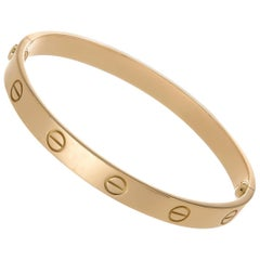 Cartier Love Bracelet 18 Karat Rose Gold