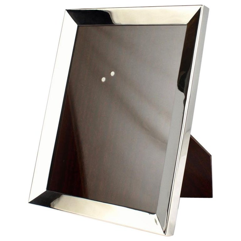 Cartier Sterling Silver Picture or Photo Frame For Sale