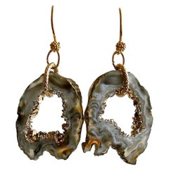 Geode Slices Earrings, Coco Earrings