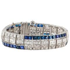 Sapphire Tennis Bracelets
