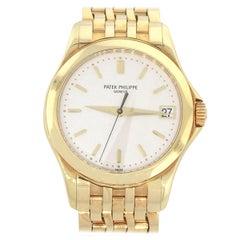 Patek Philippe 5107J Calatrava White Dial Watch