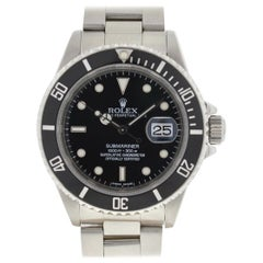Rolex 16610 Submariner Stainless Steel Black Dial Automatic Watch