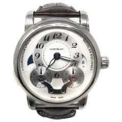Montblanc Star Rieussec Stainless Steel Watch