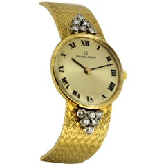Universal Genève - 18K Gold & Diamonds - Manual Wind - 39525 - Women - 1960-1969
