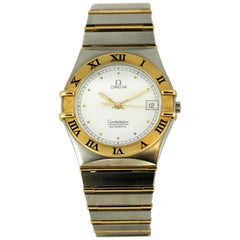 Omega Constellation 18 Karat Gold / Steel Automatic Wristwatch, 1970s