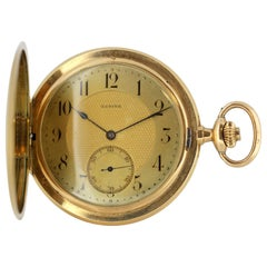 "Zenith 14k Gold manual wind pocket watch commemorating ""Grand Prix Paris 1900"""