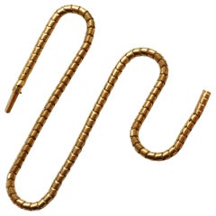 Victorian Gold Snake Chain