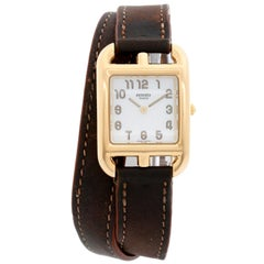 Hermes Cape Cod Yellow Gold Ladies Watch