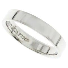 Tiffany & Co. 1999 Platinum 950 Band Ring