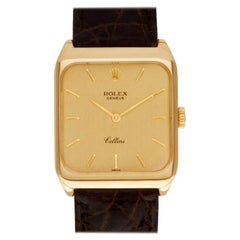 Rolex Cellini 4131 18 Karat Gold Dial Manual Watch 'Certified Authentic'