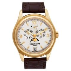 Patek Philippe Annual Calendar 5146J 18 Karat Ivory Dial Automatic Watch