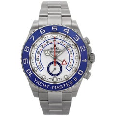 Rolex Yacht-Master II 116680 Stainless Steel White Dial Automatic Watch