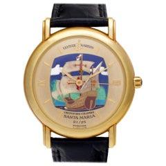 Ulysse Nardin San Marco 131-77-9 18 Karat Gold Dial Automatic Watch