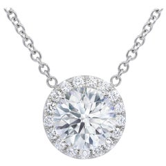 GIA Certified 4.61 Carat Diamond Pendant