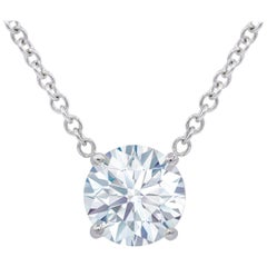 GIA Certified 2.06 Carat Diamond Pendant