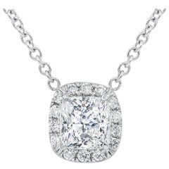 GIA Certified 2.70 Carat Diamond Pendant