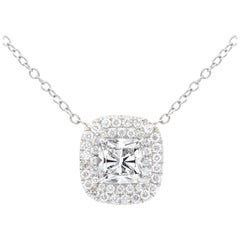 GIA Certified 2.05 Carat Diamond Pendant