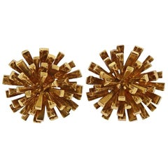 1970s Tiffany & Co. 18 Karat Gold Earrings