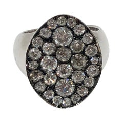 Valmonte Pave Face Diamond Signet Ring, by Martyn Lawrence Bullard