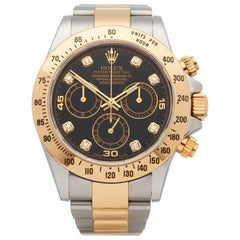 Rolex Daytona Stainless Steel And 18k Yellow Gold 116523
