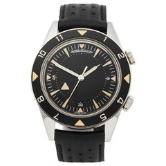 Jaeger LeCoultre Memovox Tribute To Deep Sea Stainless Steel 234896