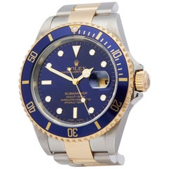 Rolex Submariner Stainless Steel And 18k Yellow Gold 16613