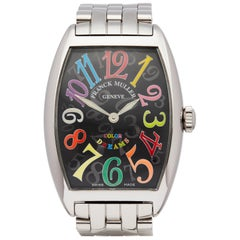 Franck Muller Cintree Curvex Colour Dreams Stainless Steel 2852QZ