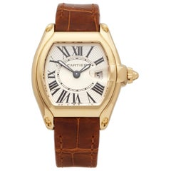 Cartier Roadster 18k Yellow Gold 2676 Wristwatch