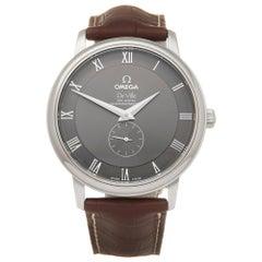 Omega Deville Stainless Steel 48134001 Wristwatch