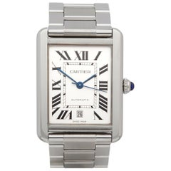 Cartier Tank Solo Stainless Steel 3800