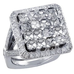 3.65 Carat Diamond Cocktail Ring