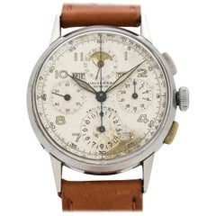 Vintage Universal Geneve Tri-Compax Reference 22536 Watch, 1948