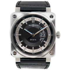 Certified Authentic, Bell and Ross BR 032664, Black Dial