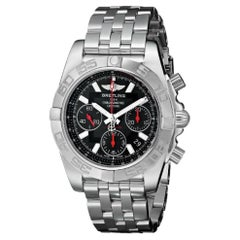 Certified Authentic Breitling Chronomat6833, Black Dial