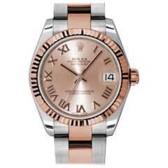 Certified Authentic Rolex Datejust9840, Pink Dial