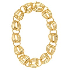 Valentin Magro Glamour Loose Link Gold Necklace