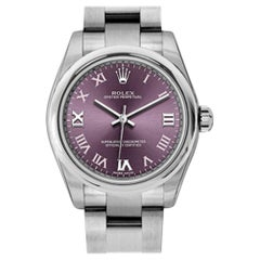 Certified Authentic Rolex Oyster Perpetual5346, Purple Dial