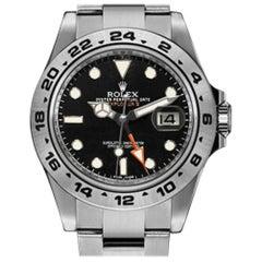 Certified Authentic Rolex Explorer II9000, Black Dial