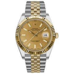 Certified Authentic Rolex Datejust12954, Missing Dial