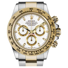 Certified Authentic Rolex Daytona18600, White Dial