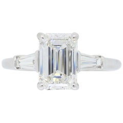 Tiffany & Co. Emerald Cut Diamond Engagement Ring
