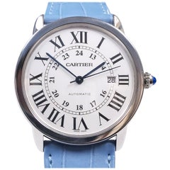 Cartier Ronde Solo Jumbo Stainless Steel Automatic Wristwatch