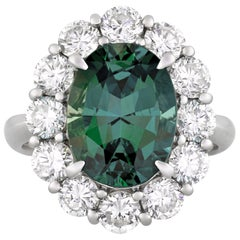 Color-Changing Alexandrite Ring, 4.99 Carat