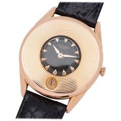 Vintage Universal Geneve 18 Karat Rose Gold Watch, 1956
