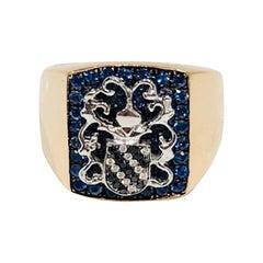 Knights Bridge Signet Ring by Martyn Lawrence Bullard