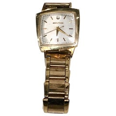 "Bulova Accutron 14 Karat Asymmetric ""TV"" Case"