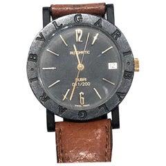 Bulgari Ceramic and Gold Watch, Limited Edition 011/200 Dubai