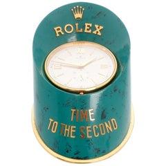 Rolex Sabot or Hoof Dealer Display Clock